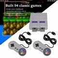 2019 neue Super Mini 16 BIT Gebaut-in 94 Spiele Konsole System mit Gamepad für SNES Nintendo Spiel Spiele konsolen