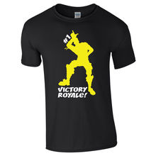 fort VICTORY ROYALE Battle Gaming Tshirt Tee Gamers Youtuber PS4 Xbox One Free shipping Harajuku Tops