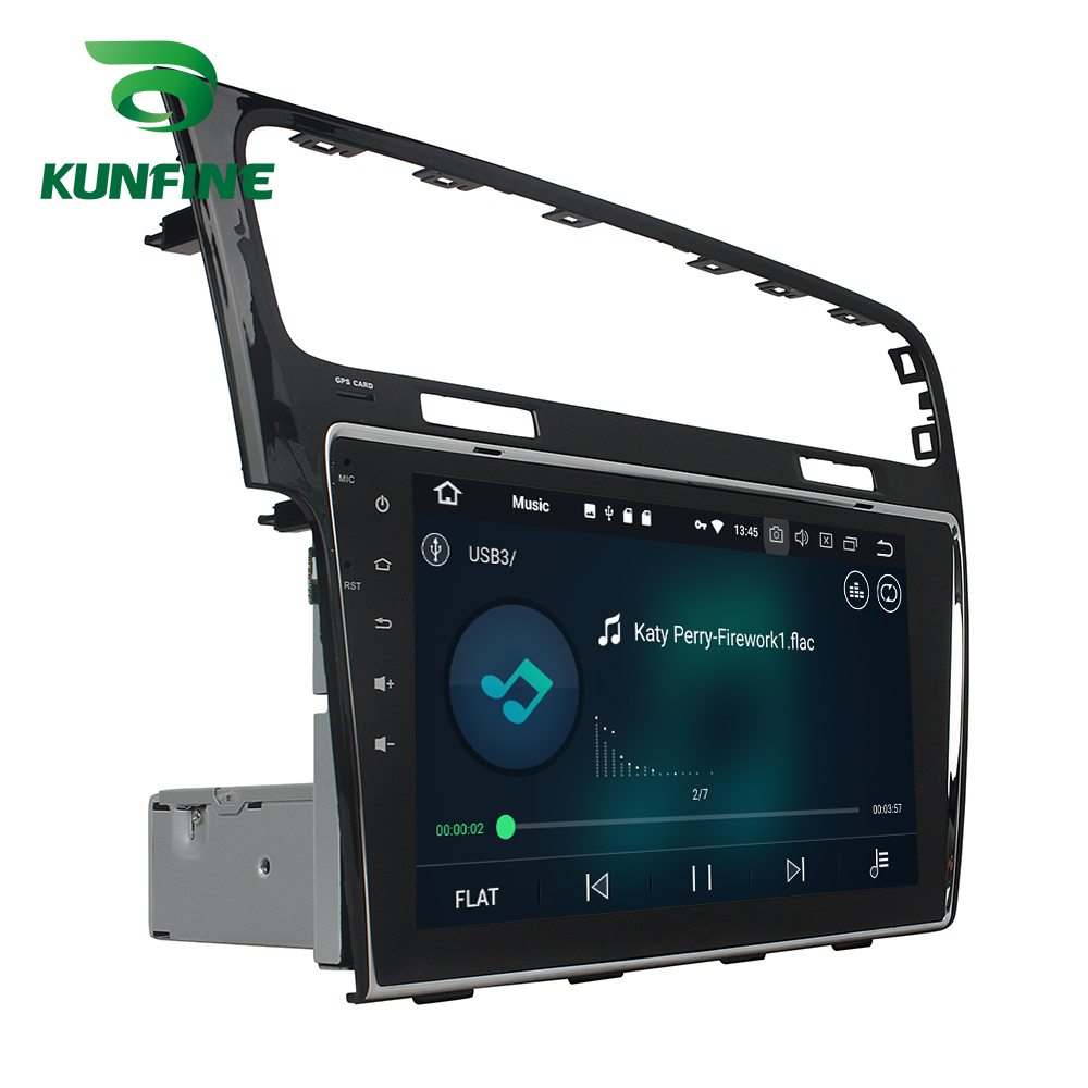 Octa Core 4 GB RAM Android 8.0 voiture DVD GPS Navigation lecteur multimédia voiture stéréo sans défaut pour VW Golf 7 2013-2015 Radio WIFI - 4