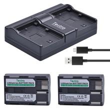 Tectra 2 шт. BP-511 BP-511A Li-Ion Батарея+ USB 2-канальный Зарядное устройство для Canon G6 G5 G3 G2 G1 EOS 300D 50D 40D 30D 20D 5D MV300i