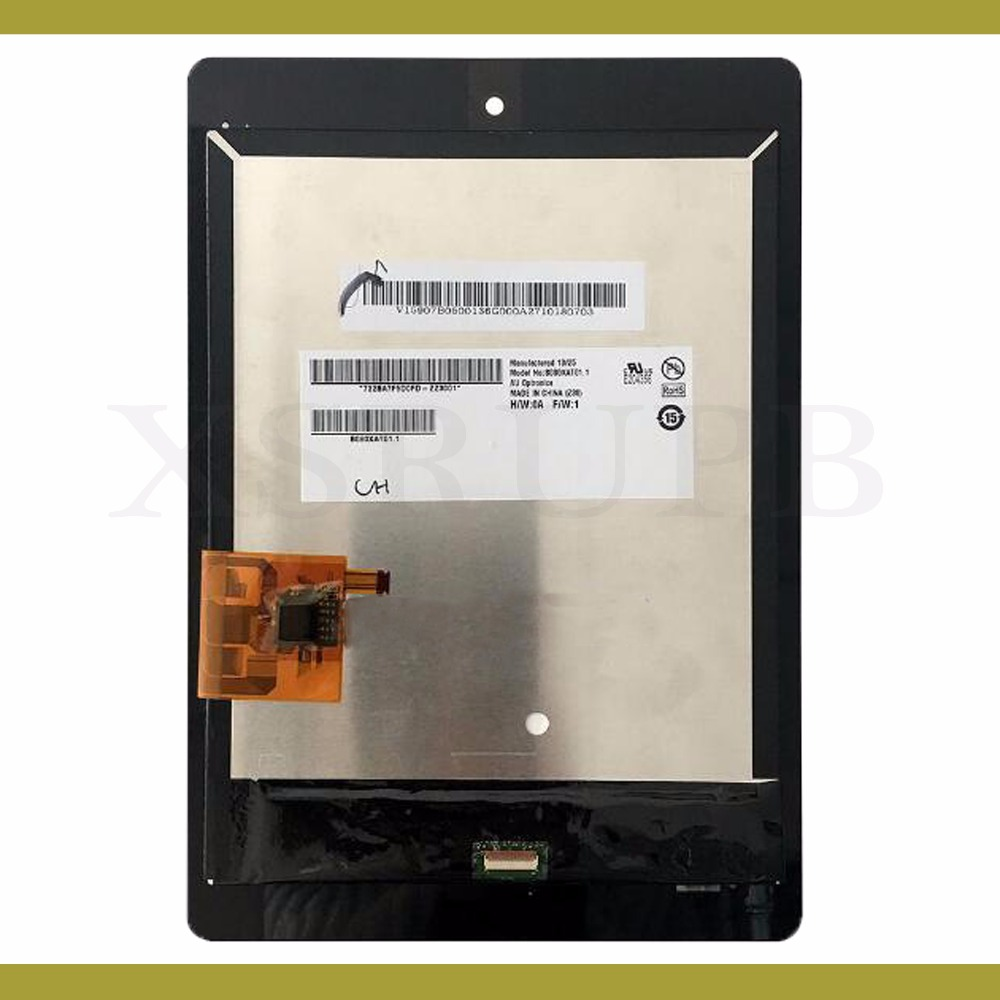 For Acer A1 810 LCD With Touch Screen Assembly Free Shippiing B080XAT01 1 B079XAT02 1