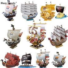 Hazy beauty One Piece Marine/Monkey D Garp/Dragon/Sanji  Pirate Ship brinquedos Collection Action Figures Toys 4 Styling 13cm