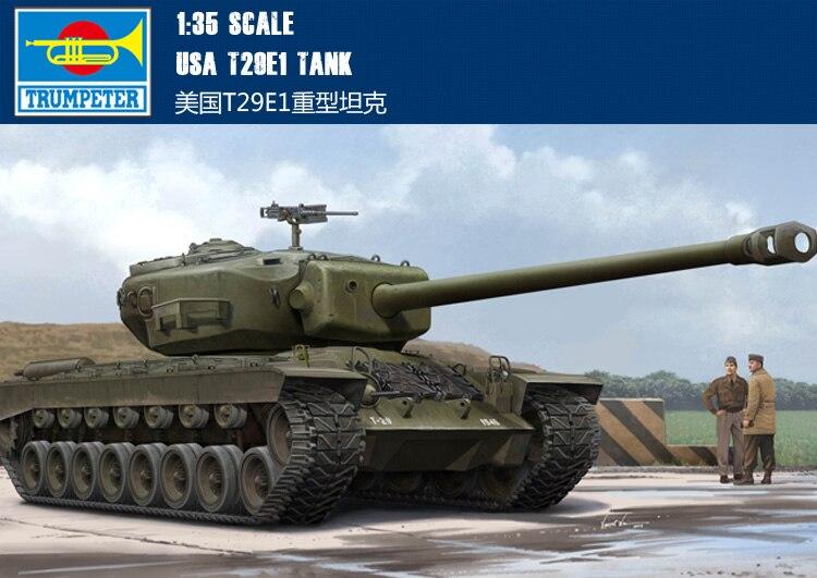 RealTS Hobbyboss 84510 1/35 US T29E1 Heavy Tank