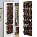 24 Карманный Домашний висячий Органайзер на дверь держатель для хранения шкаф для обуви