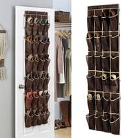 24 кармана дома над висячий Органайзер на дверь держатель для хранения шкаф для обуви