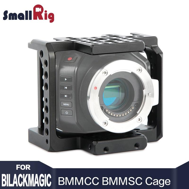 SmallRig BMMCC BMMSC Camera Cage for Blackmagic Micro Cinema Camera or for Blackmagic Micro Studio Camera