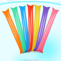 100Pcs Cheering Stick Inflatable Sticks Cheer Up Thunder Bang Noise Maker Match KTV Bar Event Party