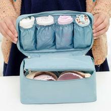 Women Clothing Bra Underwear Socks Cosmetic Packing Cube Storage Bag Travel Luggage Organizer Bags Insert