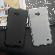 Soft Silicone Protective Back Cover Cases for Microsoft Nokia Lumia 650 TPU