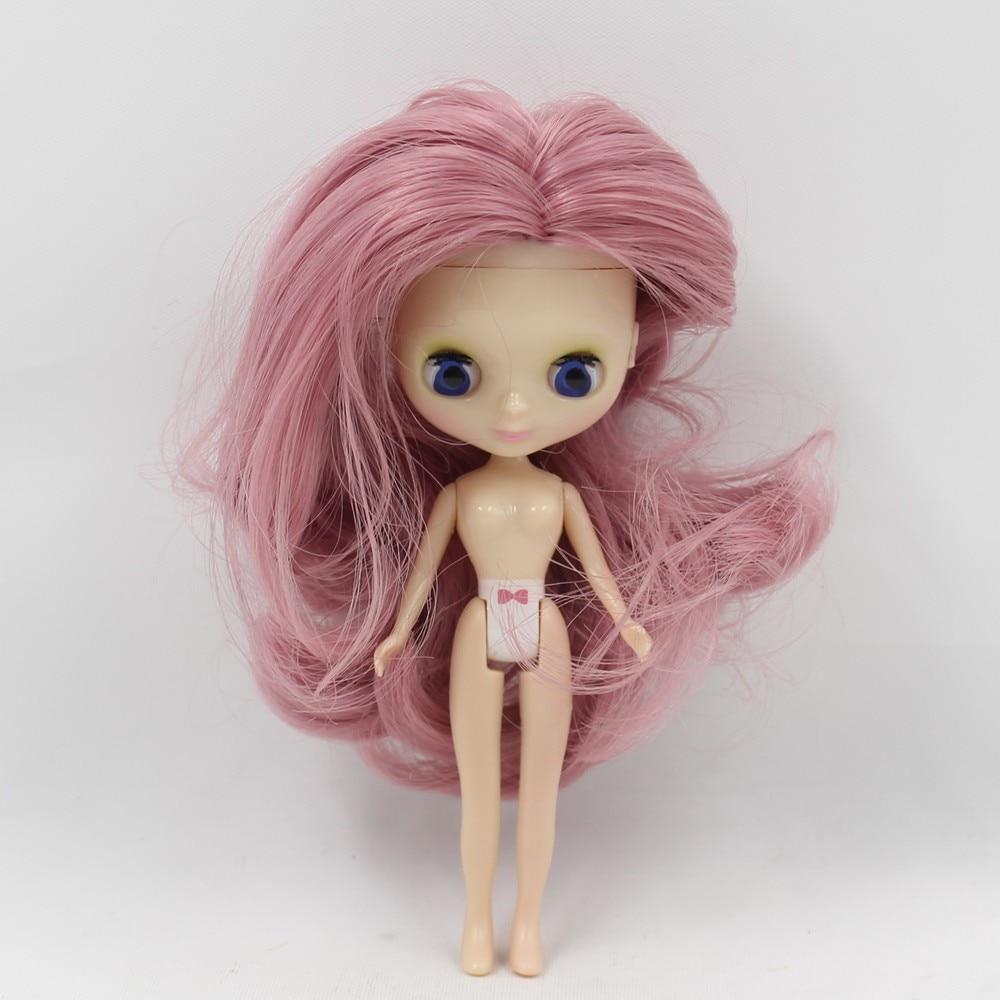 Petite Blythe Doll with Pink Hair, Sleepy Eyes & Bendable Body 1