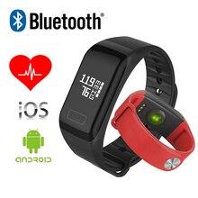 F1 Bluetooth 4.0 Спорт Смарт Браслет Фитнес-Трекер Часы Водонепроницаемые Cicret Браслет Монитор Сердечного ритма ПРОТИВ Xiaomi Mi группа 2