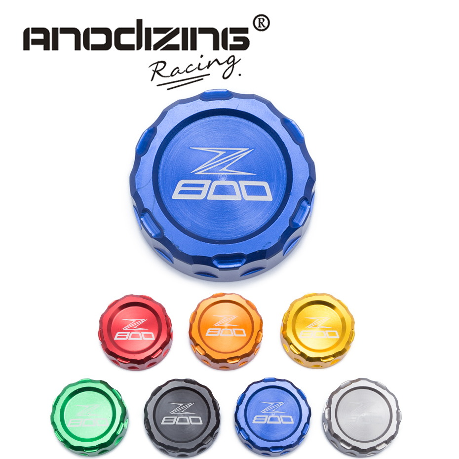 FREE SHIPPING Hot sale For KAWASAKI Z800 Z 800 Motorcycle Accessories Rear Brake Fluid Reservoir Cap Oil Cup with logo
