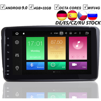 8 Full Touch Android 9.0 Car DVD GPS Player For Mercedes Benz W209 W203 W168 W163 Viano W639 Vito Vaneo 4G RAM 32G ROM WIFI DAB+