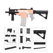 WORKER MOD F10555 MP5-K A Imitation Kit 3D Printing High Strength Plastic Combo For Stryfe Modify Toy For Nerf Parts DIY Toys