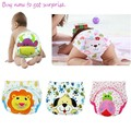 Baby  toddler training pants Cartoon Animal Washable Reuseable Baby Kids Cloth Diapers /newborn underwear pants/children shorts