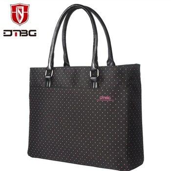 2018 DTBG Hot 15.6 Inch Briefcase Laptop Handbag Women Tote Lovely Girl Laptop Bag Water Resistant Computer Bag For HP Lenovo  grande bolsas femininas de couro