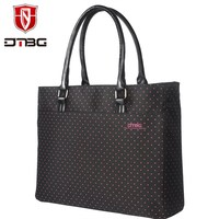 2018 DTBG Hot 15.6 Inch Briefcase Laptop Handbag Women Tote Lovely Girl Laptop Bag Water Resistant Computer Bag For HP Lenovo