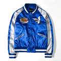 Timmiury Spring Mens Embroidery Bomber Jackets 2017 Patchwork Casaco Masculino Blue/Red Windbreaker Coat Plus Size Overcoat