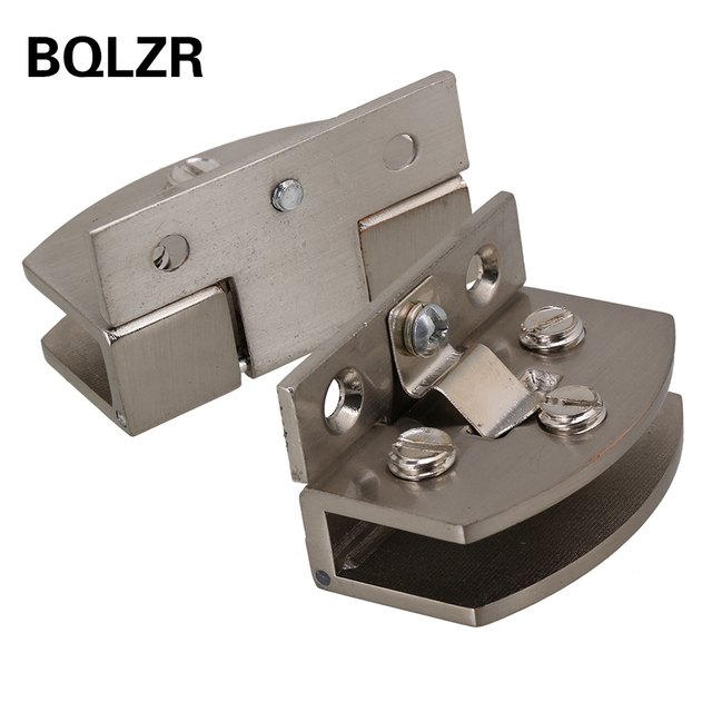Bqlzr glass door clamp hinge for bathroom cabinet cupboard glass bqlzr glass door clamp hinge for bathroom cabinet cupboard glass door pack of 2 planetlyrics Image collections