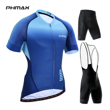Bicycle Clothing Jersey-Set Mountain-Bike Racing PHMAX Summer Men for Breathable