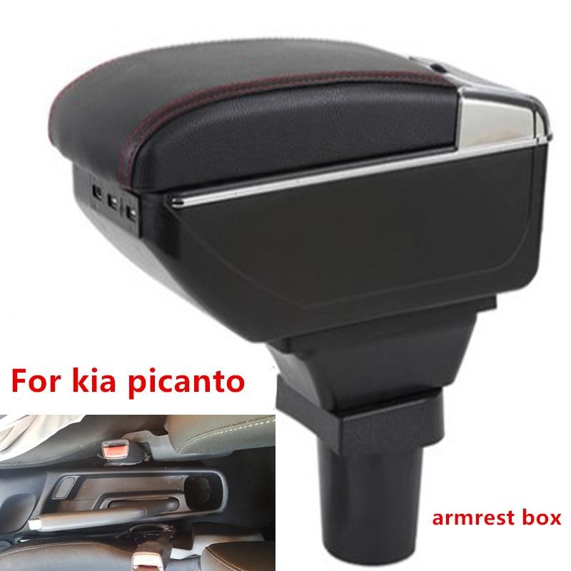 for Kia Picanto armrest font b box b font central Store content font b box b