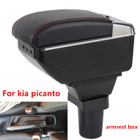 for Kia Picanto armrest box central Store content box products interior Armrest Storage car styling accessories parts