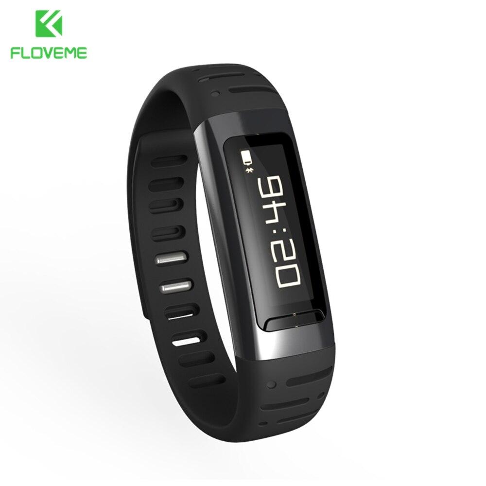FLOVEME Smartwatches Sports Running Wristband Smart Watch Sleep Monitor Bluetooth Remote Control Portable Fitness Tracker Watch