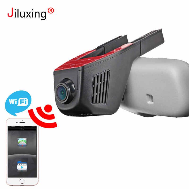 Jiluxing 1080 P wifi Автомобильный видеорегистратор петля видео автомобильные камеры Dash cam цифровой видеорегистратор регистратор Android и Apple APP