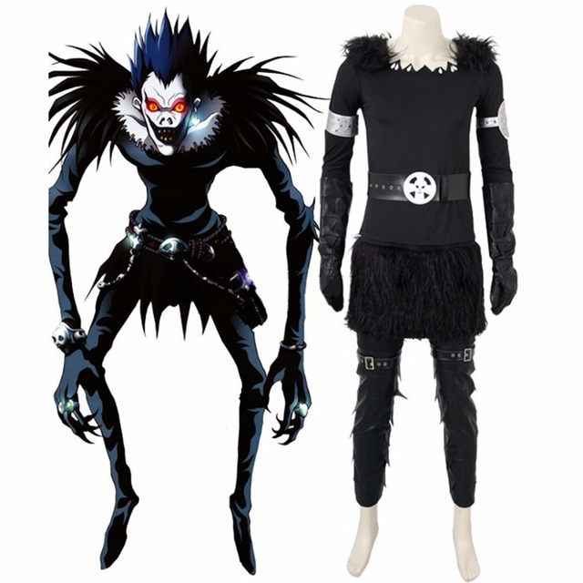 Custom Made Anime Death Note Shinigami Ryuuku Ryuk Cosplay Costume Mens Halloween  Cosplay Costume L0516