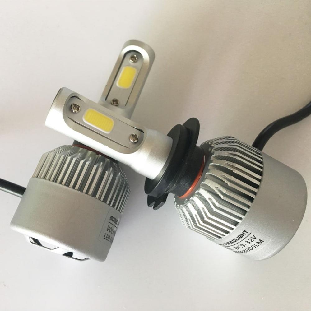 2 հատ հատ Led H7 Սուպեր պայծառ - Ավտոմեքենայի լույսեր - Լուսանկար 5