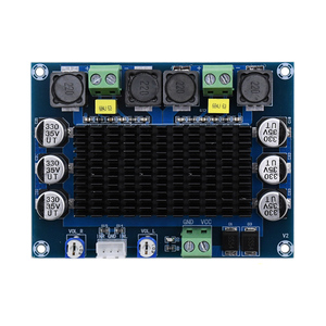 Image 4 - TDA7498 HD مضخم الصوت مجلس مكبر للصوت 100*2 فئة D مكبرات الصوت الرقمية لوحة مكبر للصوت A1 008