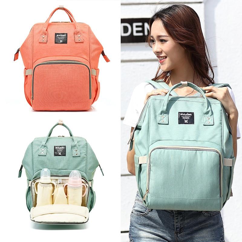 2017 Fashion Mummy Maternity Nappy Bag Brand Large Capacity Baby Bag Travel Backpack Desinger Nursing Bag for Baby Care