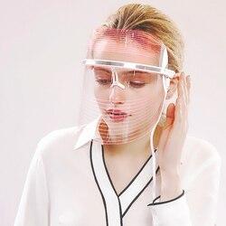 LED Mask Photon Therapy Face SPA 3 Colors Light LED Mask Skin Care Rejuvenation Whitening Anti Wrinkle Acne Skin Tightening