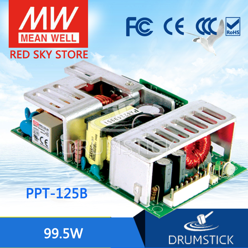 hot-selling MEAN WELL PPT-125B meanwell PPT-125 99.5W Triple Output with PFC Function фантастика история ppt