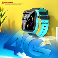 IP67 Waterproof Smart 4G Remote Camera GPS WI FI Kids Children Students Wristwatch SOS Video Call Monitor Tracker Location Watch