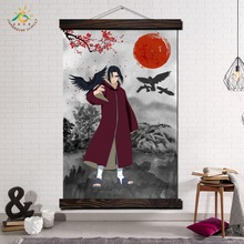 Итачи учиха Япония Аниме Современные Холст Репродукции Плакат Настенная Живопись Scroll Живопись  Лучший!
