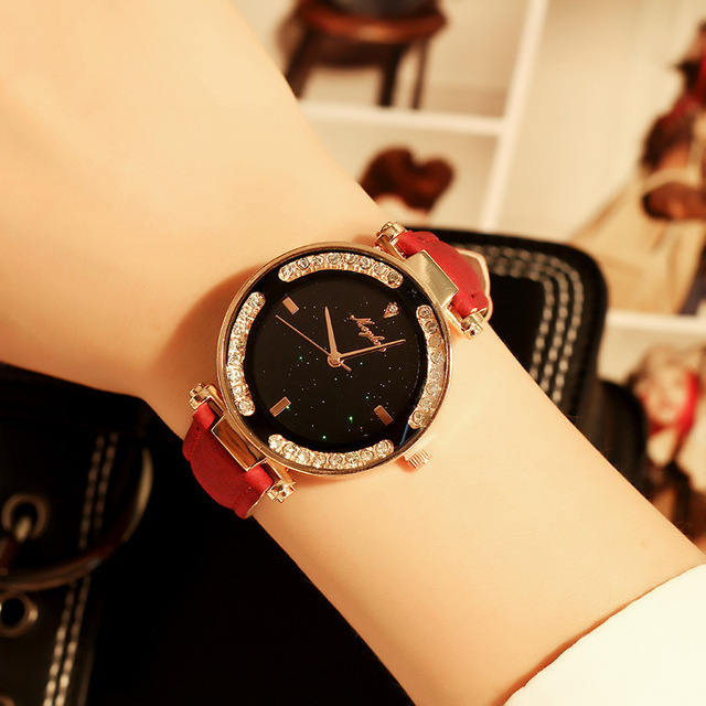 NEW Brand Watch Women Elegant Quartz Wristwatch Fashion Big Crystal Luxury Dress Relojes Mujer Relogio Feminino Montre Watch
