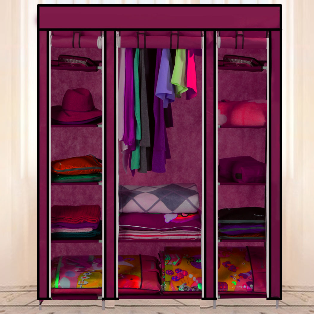 Online kopen wholesale draagbare opslag garderobe uit china ...