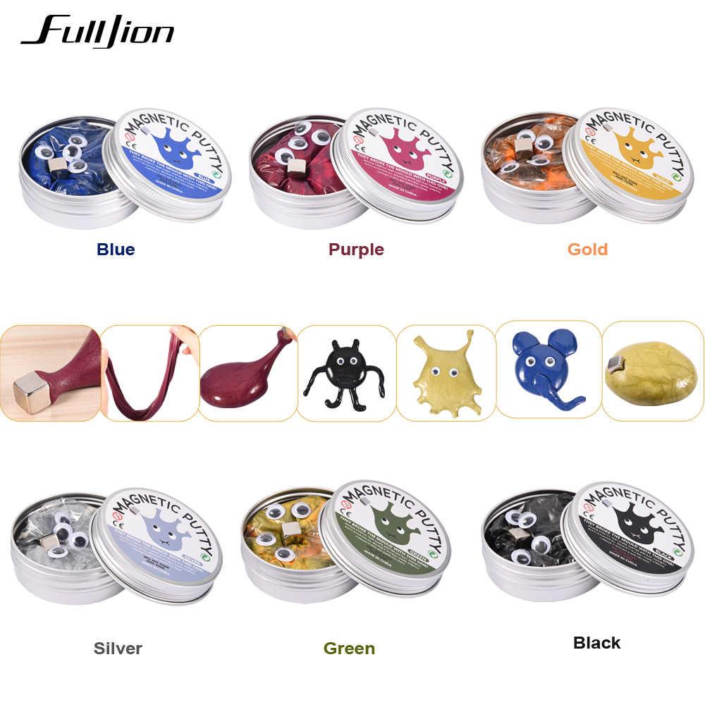 Fulljion Slime Toys Полимерная глина Пластилин игрушка для снятия стресса популярная глина для моделирования набор лизунов пушистый мягкий магнитный гончарный круг