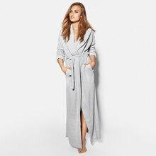 Mulheres e Homens Casal Macio Velo Completa Comprimento de Ultra Longo Plus Size Roupões Sleepwear Loungewear Noite Vestido de Pijamas Nightdress