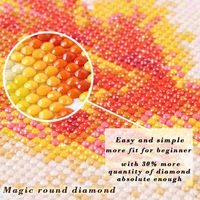 Magic round diamond