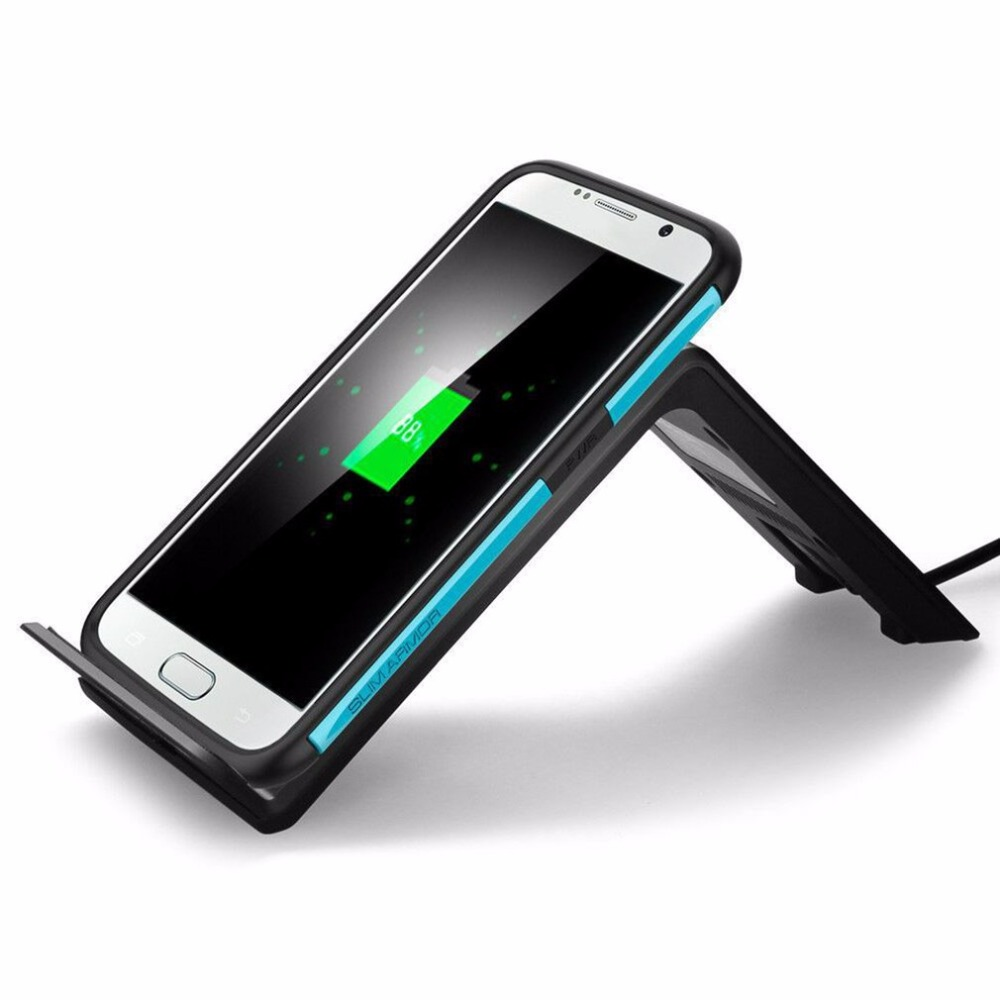 Mobile Phone Wireless Charging Charger Adapter Support For Samsung S6 Edge Plus Note 5 For Qi Standard Charging Device Stand
