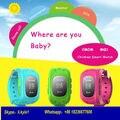 Enviar da rússia smart kid safe relógio gps location finder rastreador para o Miúdo Bebê Criança Rastreador Anti Perdido Rastreador não Q50 Q80 Q90