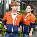 New 2017  Teenagers  Spring And Autumn Thin Couples  Korean Men And  Women Casual  Jacket  Wind  Free Shipping