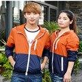 Novo 2017 Adolescentes Casais Homens E Mulheres Coreanas Primavera E No Outono Fina Jaqueta Casual Vento Frete Grátis