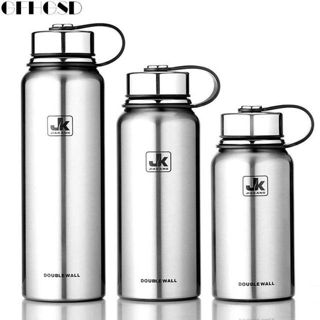 gfhgsd isol en acier inoxydable thermos bouteille thermos grande capacit thermos thermique. Black Bedroom Furniture Sets. Home Design Ideas