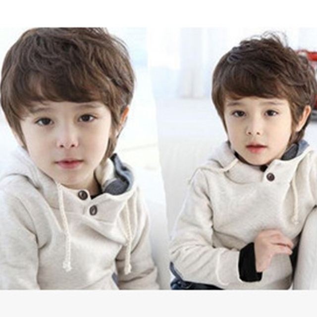 Infant Baby Boy Wigs Child Curly Korean Fashion Hair Pictures Photography Necessary Children