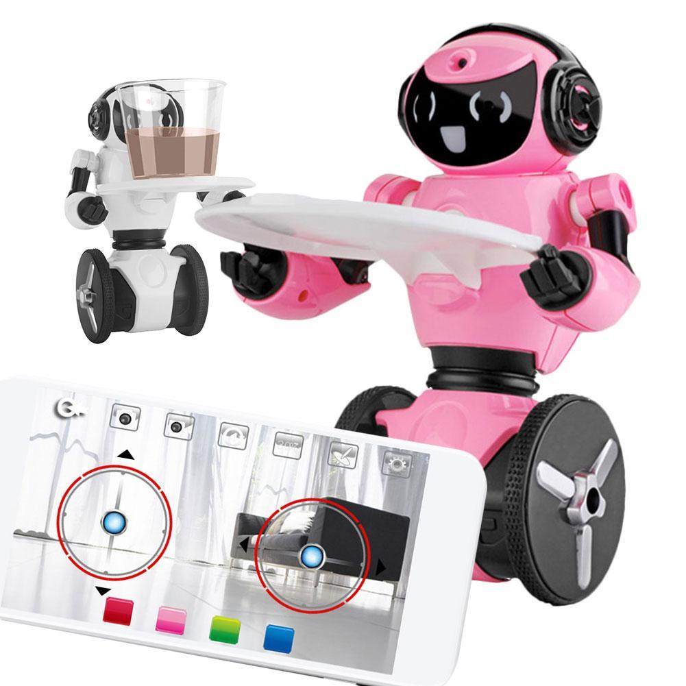 F4 deux roues équilibrage Robot WIFI caméra automatique téléphone Mobile télécommande Intelligent équilibrage Robot jouet enfants cadeaux