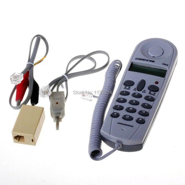 Chino E C019 Telephone Phone Line Butt Test Tester Lineman Tool ...