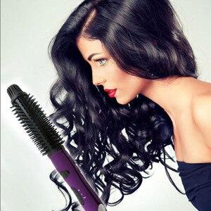 Image 2 - WXB 5 w 1 prostownica do włosów styl ceramiczne do włosów uniwersalny lokówki lokówki lokówka żelaza suszarka nadmuchowa różdżka Styling Tools suszarka do Bru